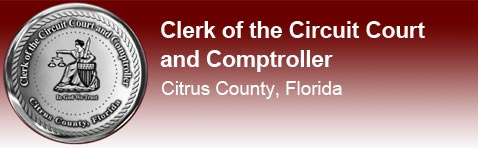 Clerk of the Circuit Court and Comptroller, Citrus County, Florida